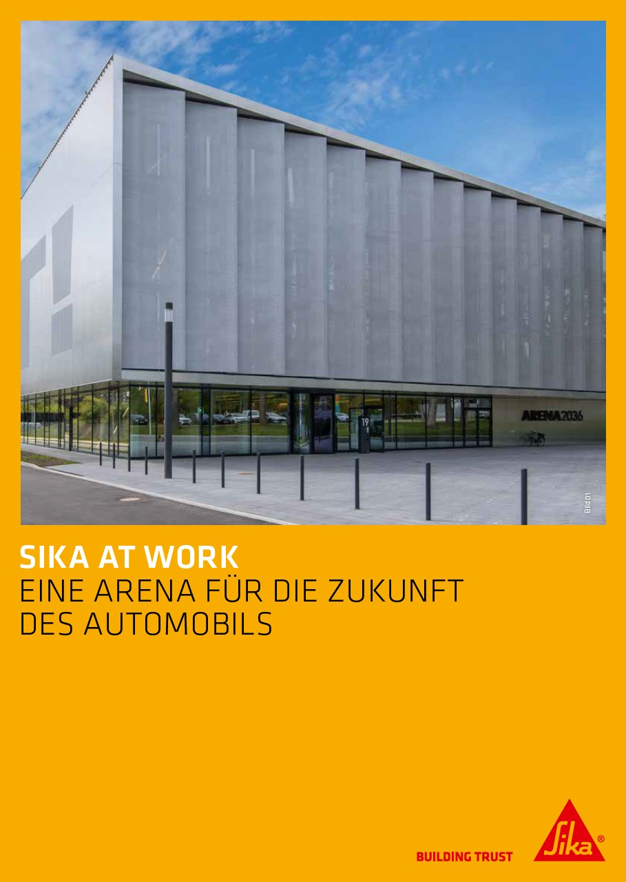 Sika at Work: Arena 2036