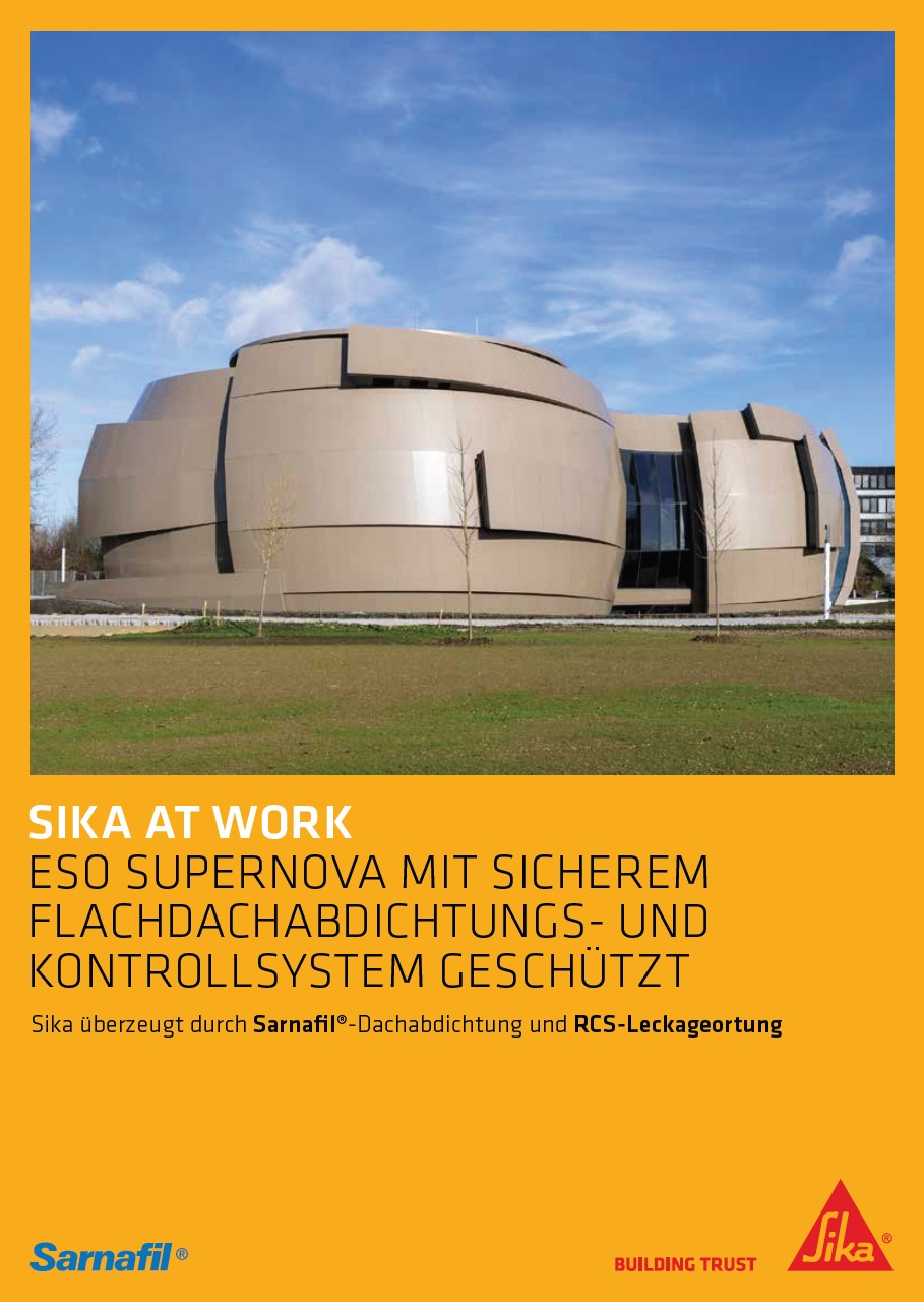 Sika at Work: ESO Supernova Planetarium