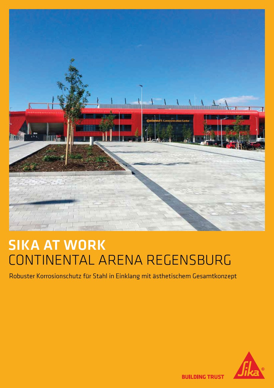 Sika at Work: Continental Arena Regensburg